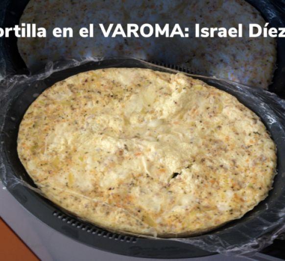 Como hacer tortilla en el Varoma de Thermomix®