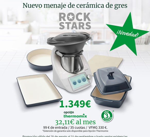Thermomix® TM6 CON MÁS REGALOS EN MADRID