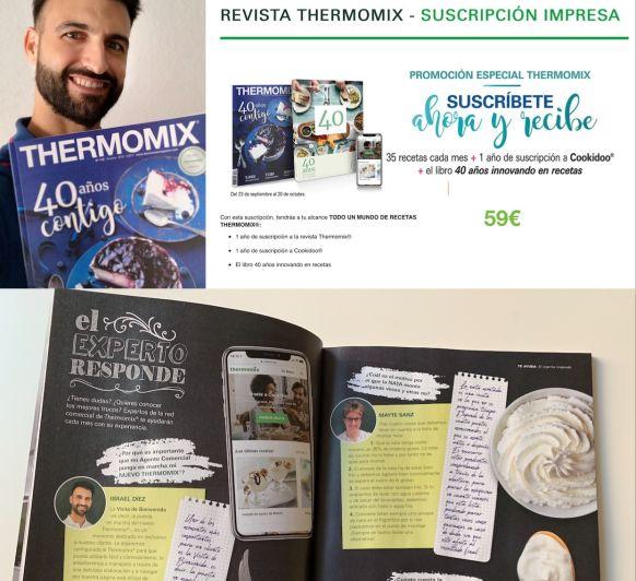 Promoción suscripción a la revista Thermomix® . AHORRA 46€