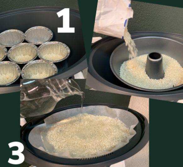 Como preparar arroz blanco en el Varoma