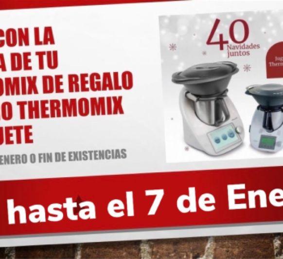 Thermomix® de Juguete de REGALO!!!