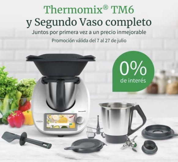 Thermomix® al 0% de interés, sólo hasta el 27 de Julio!!! y con segundo Vaso Completo!