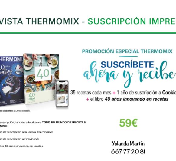 "REVISTA Thermomix® ""PROMOCION ESPECIAL"""