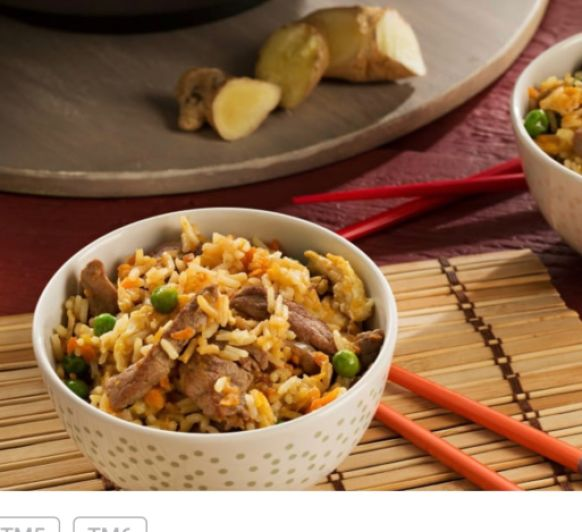Arroz frito con ternera CHINA