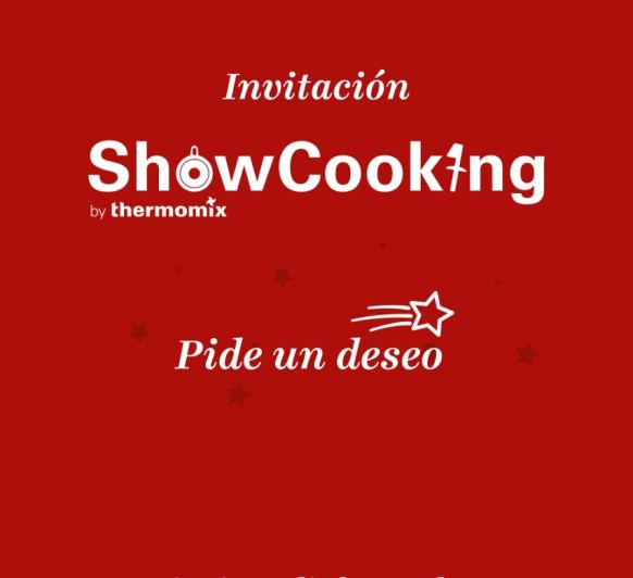 Showcooking Pide un deseo