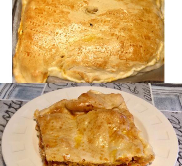 Empanada (bonito con pisto)