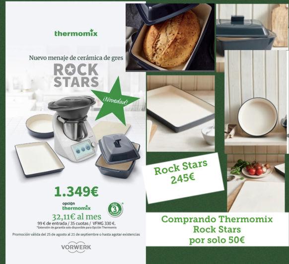 """Thermomix® Y SU NUEVA EDICIÓN """"RockStars"""""""