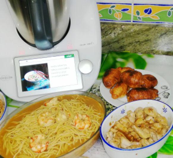 Menú comida China